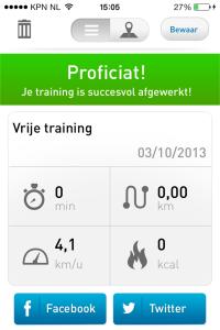 training Evy
